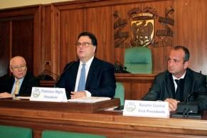 Provincia, il presidente Miglio, il vice Cusmai (Ph: MAIZZI)