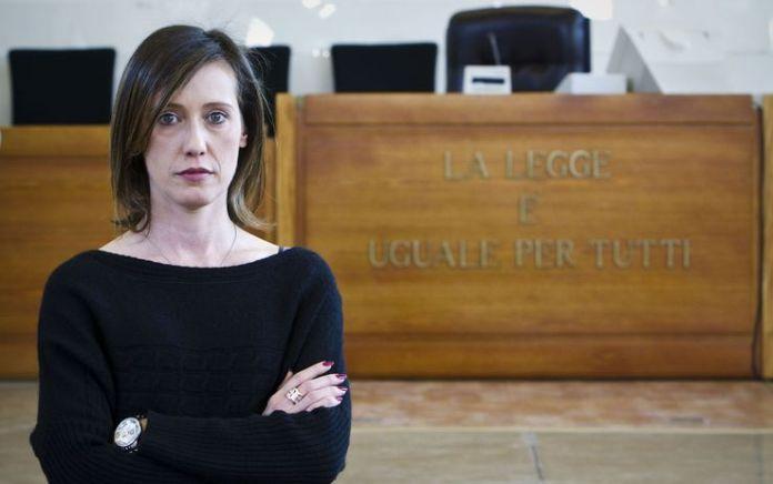 Ilaria Cucchi, sorella del geometra romano Stefano, morto nel 2009 (ph: www.lintraprendente.it)