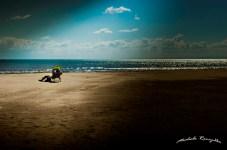 Spiaggia di Siponto, fine estate (Michele Renzullo)