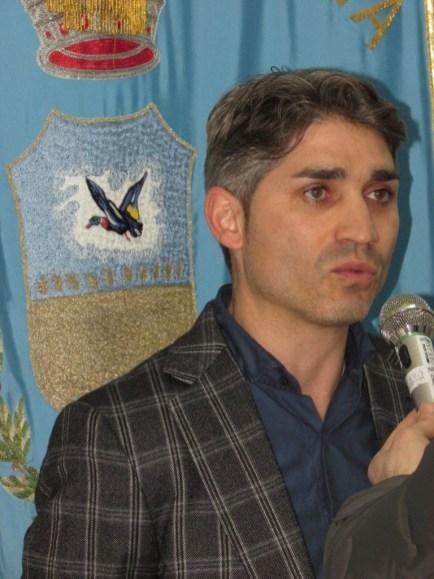 Il sindaco di Zapponeta Giovanni Riontino (ph: Benedetto Monaco)