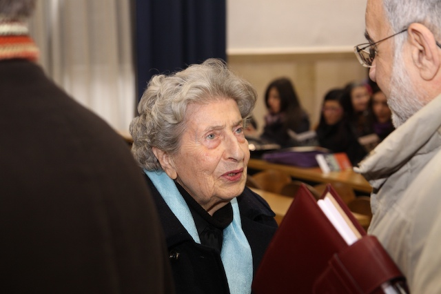 Baldina Di Vittorio in un passato convegno (http://www.lanotiziaweb.it)
