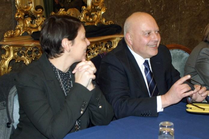 A destra il presidente onorario della FAI, Tano Grassi (ph: MAIZZI)