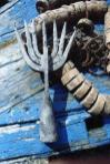 Antica fiocina per la pesca delle seppie con le vorle Fescene a sette dinde