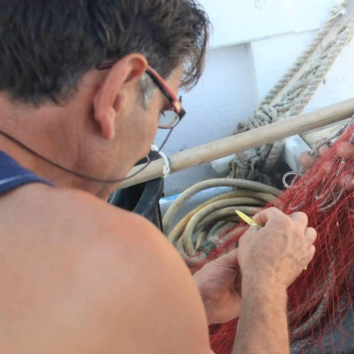 Michele Conoscitore, pescatore di Manfredonia (SQ, immagine d'archivio)
