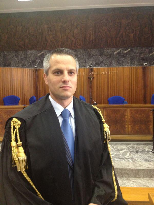 L'avvocato Gianfranco Di Sabato del foro di Foggia (SQ - 13.03.2015)