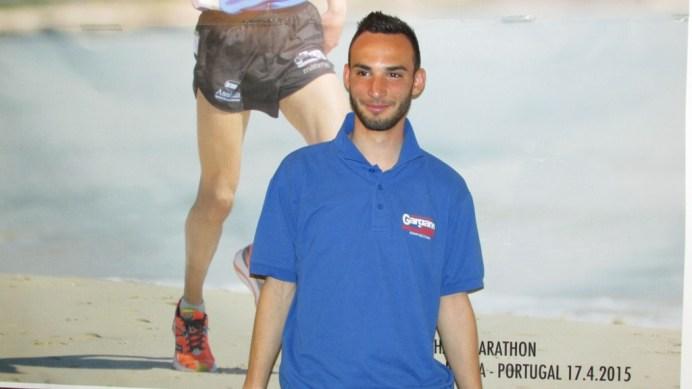 L'atleta Alessandro Tomaiuolo (ph: Benedetto Monaco)