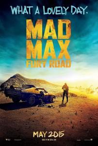 Mad Max Fury Road - locandina