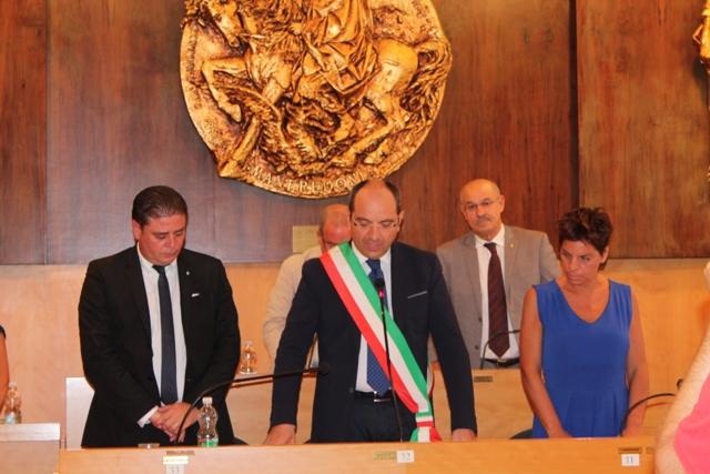 Prima seduta Consiglio comunale di Manfredonia (25.08.2015 - ARCHIVIO)