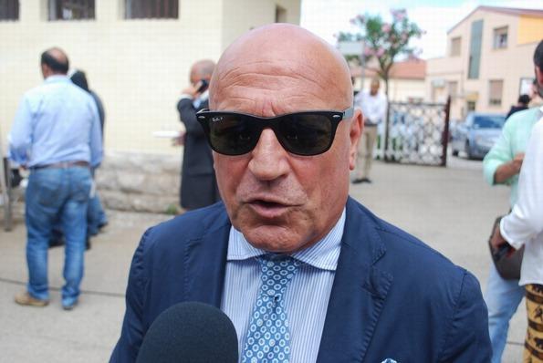 Il sindaco di Peschici Franco Tavaglione (ph teleradioerre)