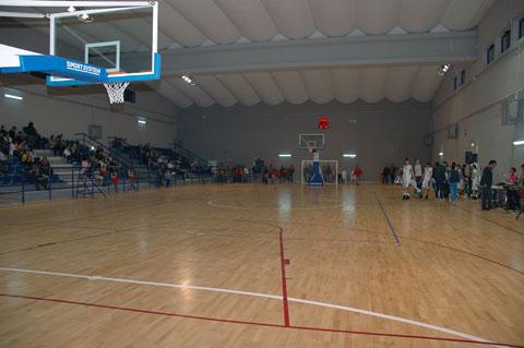 (ph archivio Comune di Manfredonia, Palazzetto dello Sport via Scaloria)