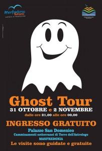 La locandina del Ghost tour