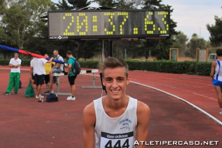 Francesco Fortunato atLetica leggera Atleta-UniFg