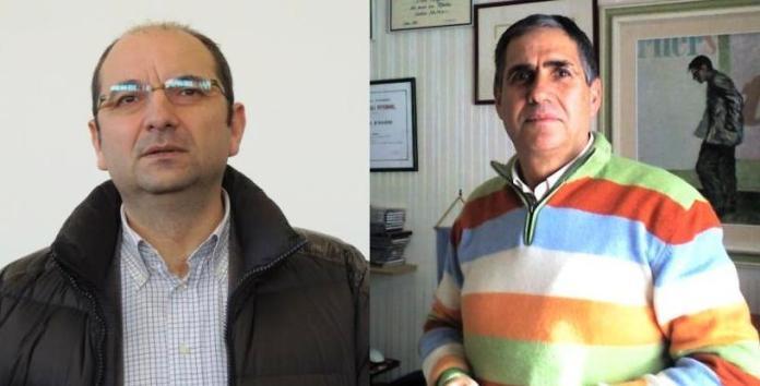 Il sindaco di Manfredonia Angelo Riccardi e il consigliere comunale di Manfredonia Nuova Italo Magno
