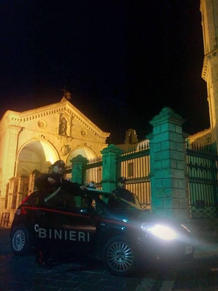 CARABINIERI DI MONTE SANT'ANGELO - ST