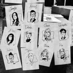 Caricature di Genni ciociola
