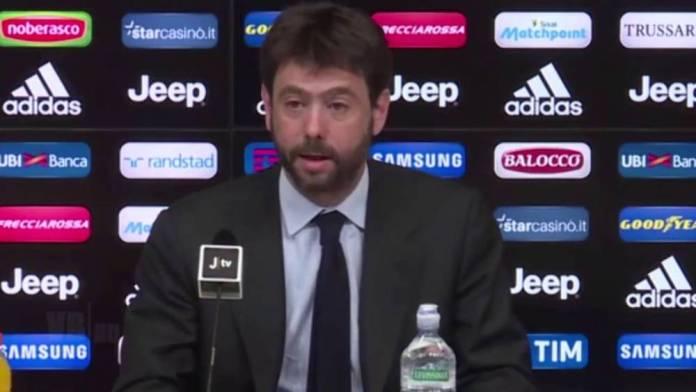 L'attuale presidente della Juve Andrea Agnelli