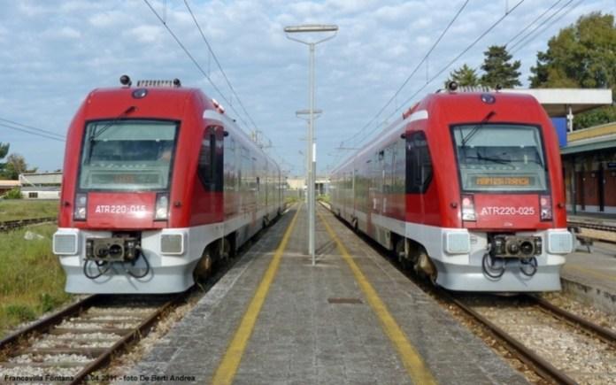 Treni Ferrovie Sud Est (24 marzo 2016)
