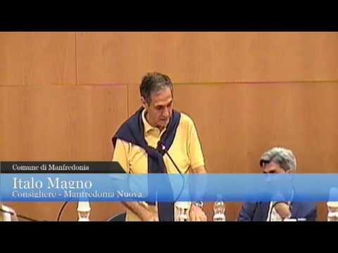 Manfredonia. Consiglio comunale, bilancio ASE. Intervento Italo Magno (MN)