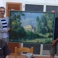 """L'Agenzia del Turismo è al lavoro per la messa a punto degli ultimi dettagli dell'allestimento della mostra di Wolfgang Lettl """"Manfredonia, la mia amata""""."""