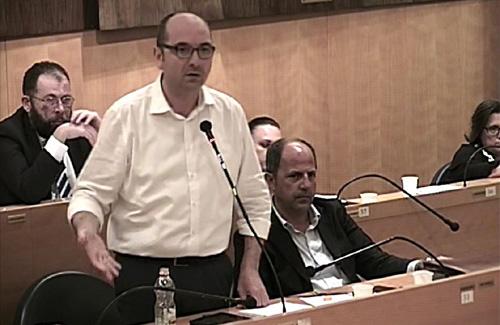 Il sindaco di Manfredonia Angelo Riccardi
