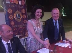 LIONS Club MANFREDONIA Host: Passaggio consegne