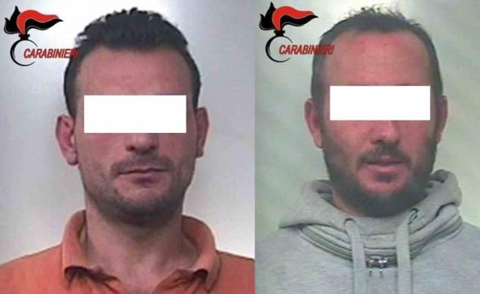 I Carabinieri della Compagnia di Manfredonia, nello specifico quelli del Nucleo Operativo e Radiomobile, hanno tratto in arresto in flagranza di reato per concorso in furto aggravato il 41enne ROBERTO Eugenio e il 35enne STARACE Gianfranco