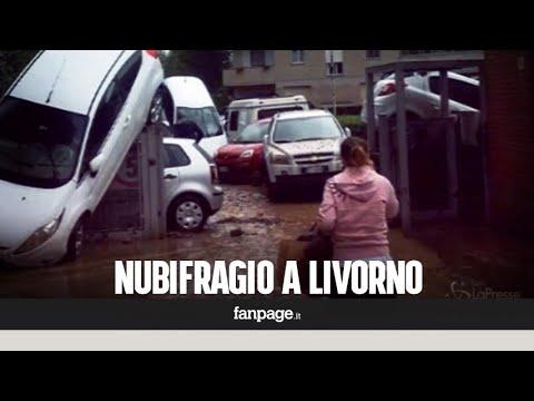 Maltempo, sei morti a Livorno: distrutta intera famiglia