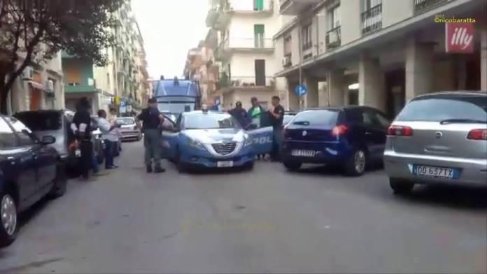 Foggia : maxi controllo al Quartiere Ferrovia (FOTO-VIDEO)