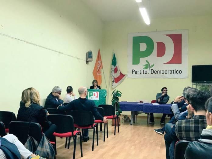 INCONTRO AL CIRCOLO DEL PD