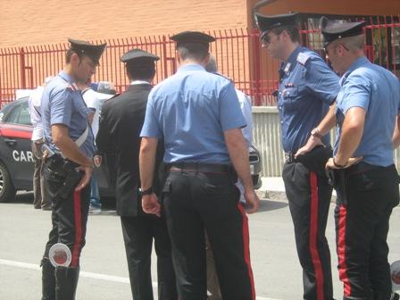 LE INDAGINI DOPO LA SPARATORIA IN VIA VENEZIANI (13.08.2012)