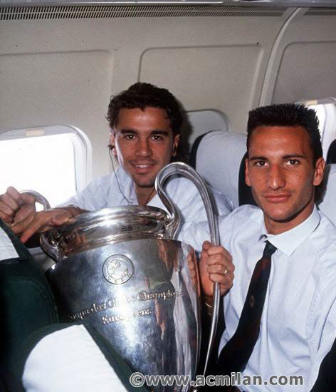 Da sinistra: Stefano Borgonovo e Salvatori http://www.stefanosalvatorifootball.com.au
