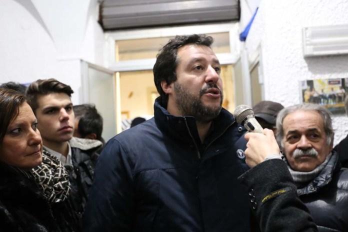 MATTEO SALVINI A MANFREDONIA (PH STATOQUOTIDIANO.IT)