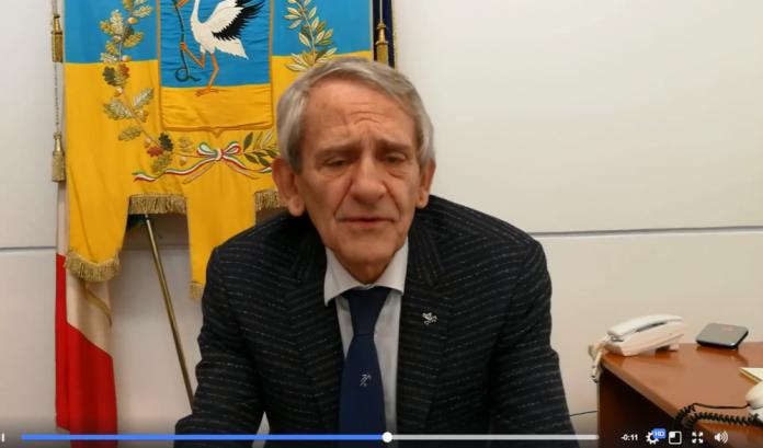 FRAME VIDEO - SINDACO DI CERIGNOLA, FRANCO METTA