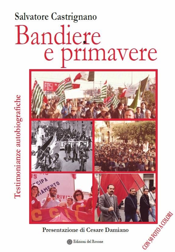 """COPERTINA LIBRO """"BANDIERE E PRIMAVERE"""""""