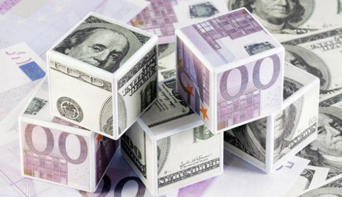 EURO DOLLARO (IMMAGINE IN ARCHIVIO)