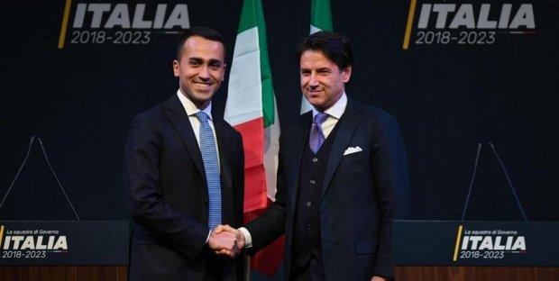 Di Maio - Conte (ph money)