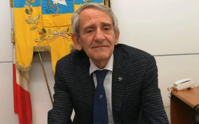 Il sindaco di Cerignola, Franco Metta (ph skytg)