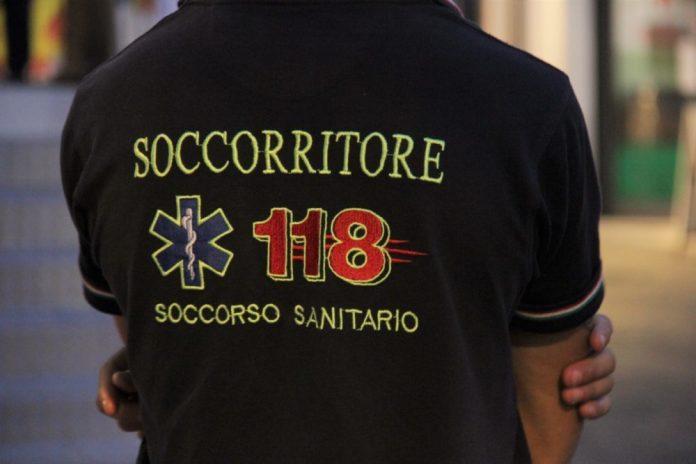 SOCCORRITORE 118 (IMMAGINE D'ARCHIVIO)