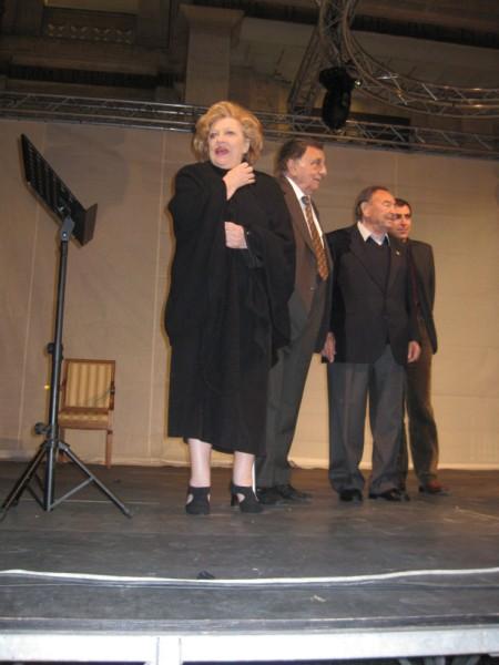 Carla Boni, Franco De Gemini, Giorgio Consolini e Carlo Posio