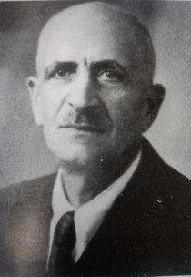 Il M° Cherubino Salvatore Murgo- Fondatore e primo presidente dell'Ass. Combattenti di Manfredonia (1)