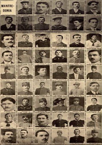Nelle foto i militi di manfredonia morti durante la prima guerra mondiale- Archivio Matteo Borgia (1)