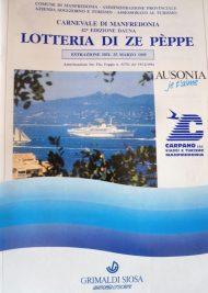 Lotteria Zepèppe - Carnevale 1995