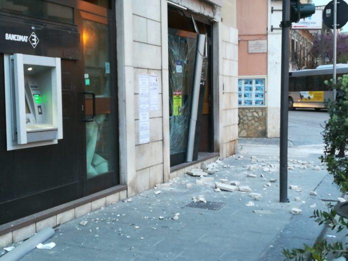 Assalto con esplosivo a bancomat Foggia Sportello Bpm si trova in pieno centro cittadino