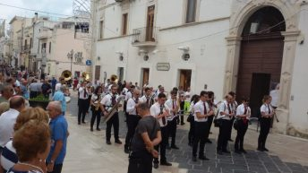 16 luglio 2019-Matinèe - Esibizione della banda cittadina nei pressi della chiesa del Carmine - Copia