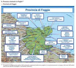 Presenza criminalità organizzata nel Foggiano: il quadro attuale