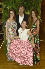 Beppe Convertini con Simona Borioni Valeria Graci e Myriam Fecchi