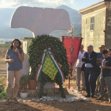 """Secondo anniversario strage San Marco Lamis: vedova Luciani, """"basta nascondersi"""" (ph ANSA puglia)"""