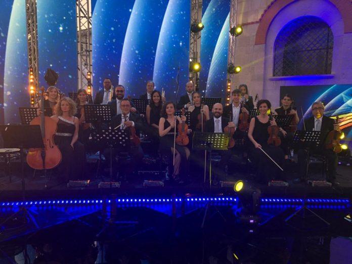 Alcuni elementi dell'Orchestra Suoni del Sud di Foggia