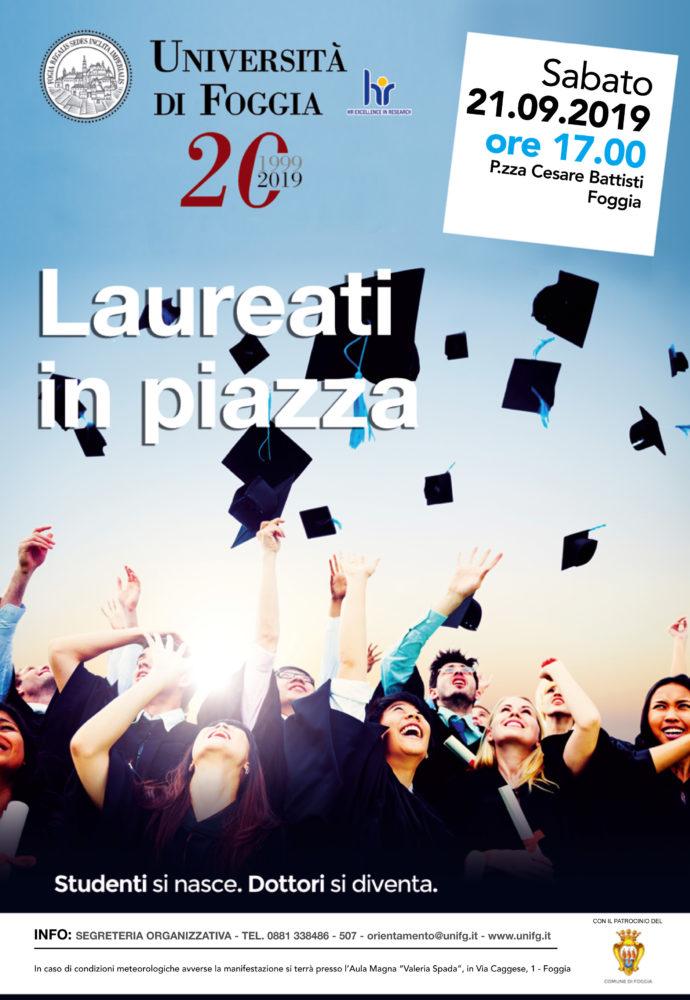 MANIFESTO LAUREATI IN PIAZZA 2019MANIFESTO LAUREATI IN PIAZZA 2019
