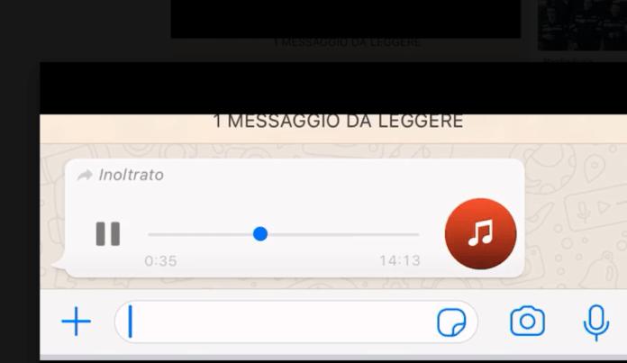FRAME MESSAGGIO AUDIO (ST)